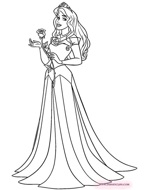 sleeping beauty coloring pages 3 disney coloring book