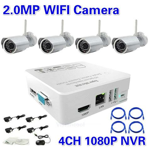 Nvr Kit 4 Channel 4 Ch 4ch 13mp Wireless Cctv best price hd 4ch nvr kit 1080p with 4ch 2 0 megapixel ir