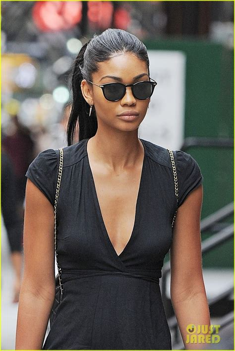 chanel iman chanel iman shows off her hairstylist skills photo
