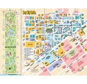 Map Of Union Square Shopping San Francisco