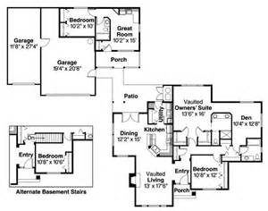 house plans with in suite detached guest cottage or in suite house plan hunters