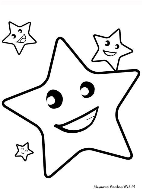 gambar tato bintang kecil gambar mewarnai untuk anak anak gambar aneh unik lucu