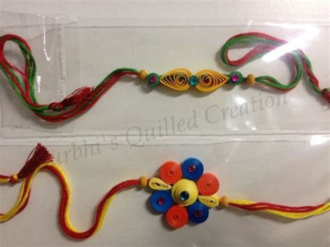 quilling rakhi tutorial 46 best homamade rakhi ideas images on pinterest diy