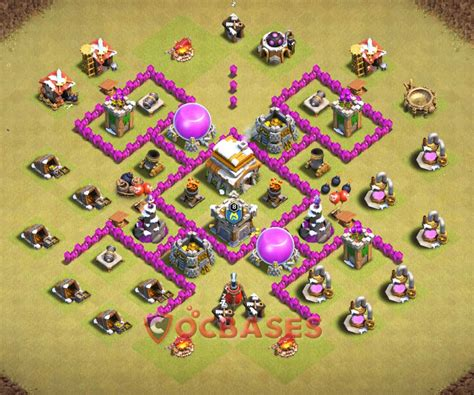 layout coc war base th6 top 20 best th6 war base anti everything 2018 new