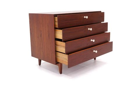 Thin Drawers by George Nelson Rosewood Thin Edge Cabinet Chest Of Drawers