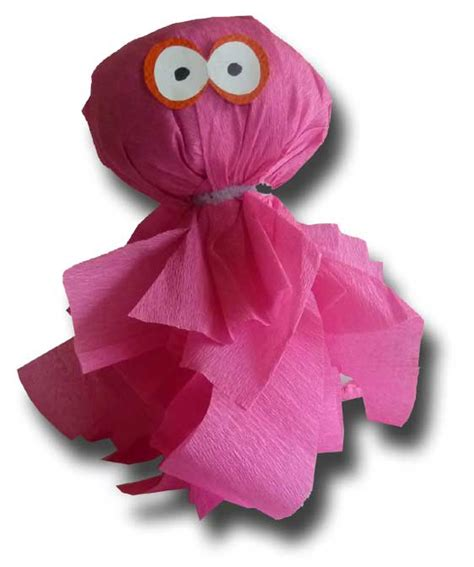 Crepe Paper Craft - paper crafts for children 187 crepe paper