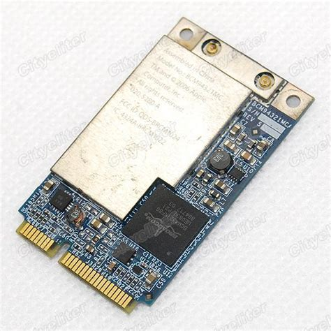 Wifi Card Macbook apple wireless wifi macbook pro card bcm94321mc bcm4321 300mbps airport ebay