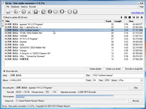 free download mp3 converter cd audio track fre ac free audio converter download sourceforge net