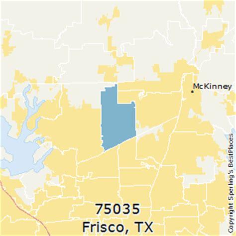 frisco texas zip code map best places to live in frisco zip 75035 texas