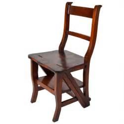 americana folding library step chair ahm a175 lock stock