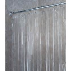 clear vinyl shower curtain folat