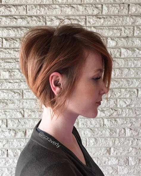 70 Cute and Easy To Style Short Layered Hairstyles   Blonde bobs, Strawberry blonde and Bobs