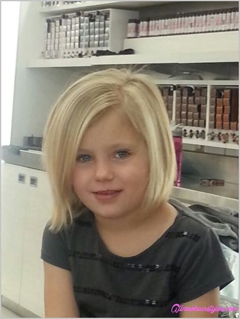 haircuts for girls with thin hair 4 years old little girl bob haircuts allnewhairstyles com