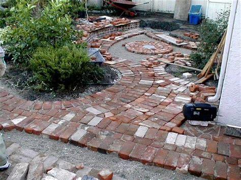 patio how to build a brick patio