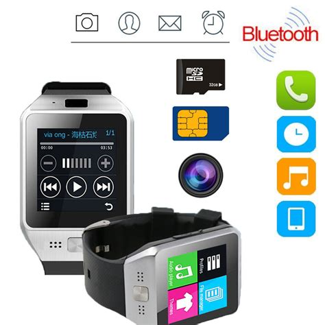 jv08s bluetooth smart sim card for android samsung iphone dz09 ebay