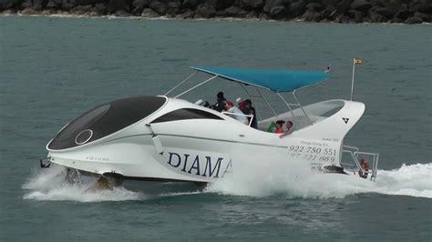 hydrofoil boat youtube hydrofoil tenerife glass bottom boat paritetboat looker