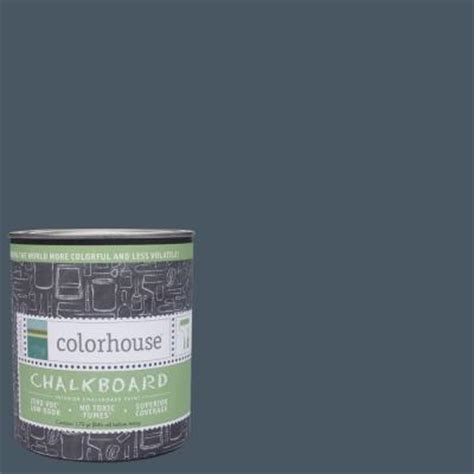 colorhouse 1 qt wool 06 interior chalkboard paint 644694 the home depot