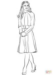 princess kate coloring pages catherine duchess of cambridge coloring page free