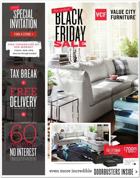 black friday deals on couches value city furniture 2015 black friday ad black friday