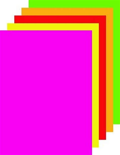 25335 Pink Black Set fluorescent neon poster board royal brites assorted colors