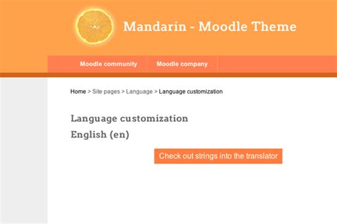 moodle theme modification how to change the default words and phrases in moodle