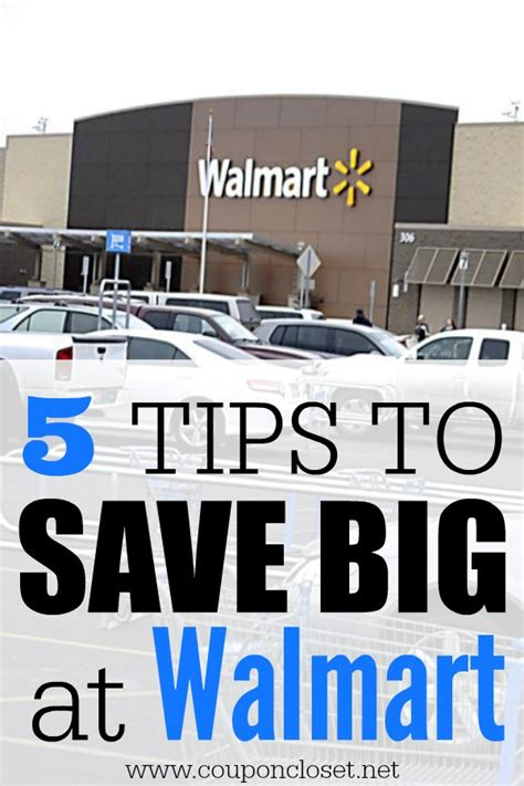 how to save money at walmart 5 easy tips coupon closet