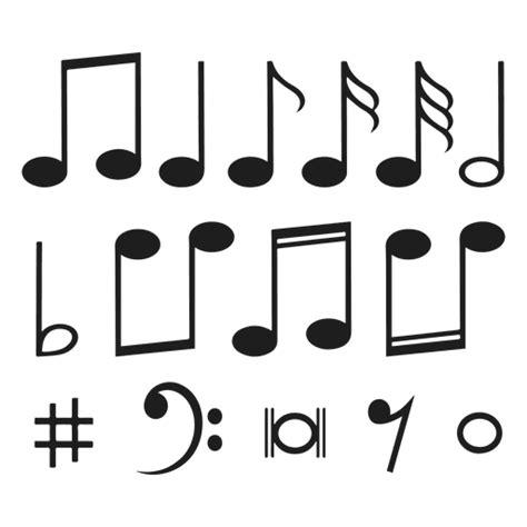 imagenes en png de notas musicales notas musicales descargar png svg transparente