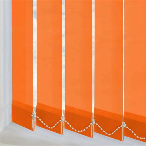 Orange L Shades Uk by Orange Vertical Blinds Made To Measure From Direct Blinds