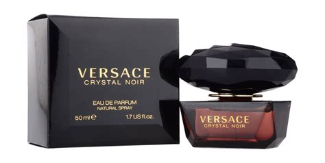 Versace Eau De Parfum noir by versace for 50 ml eau de parfum