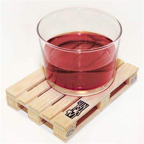 wooden drink coaster wooden palette it drink coasters for the really heavy