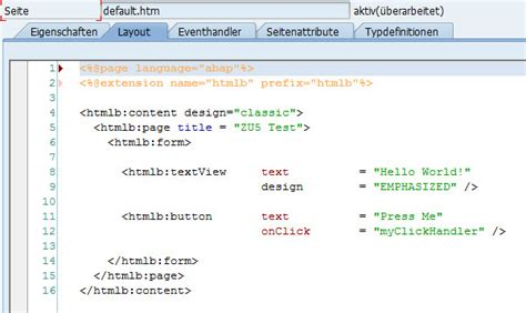sapui5 layout exles changing a bsp application into sapui5 layout by changing