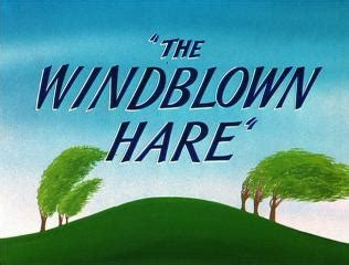 looney tunes title card template the windblown hare