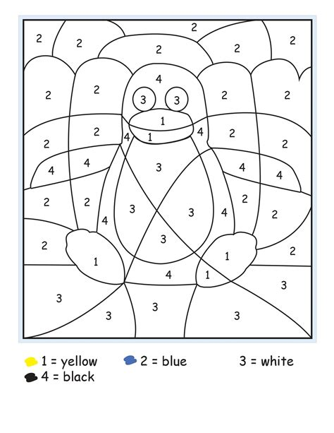color by number printables color by numbers sheets printable activity shelter