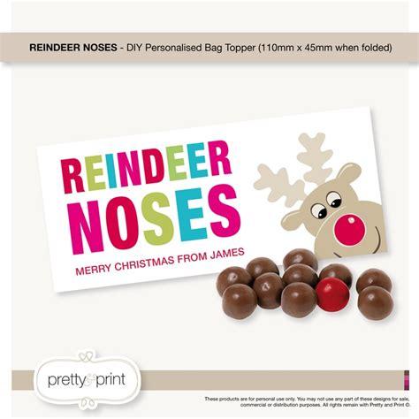 reindeer bag printable best photos of reindeer noses printable free printable