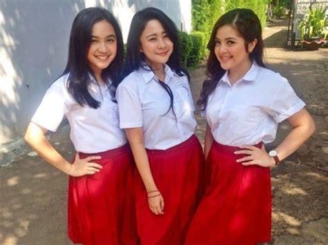 Baju Sekolah Anak Sd demi proyek savelaguanak tiga mantan artis cilik ini til cantik pakai baju anak sd