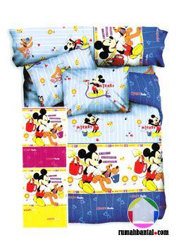 Sprei Mickey Garden mickey mouse on rumahbantal rumahbantal