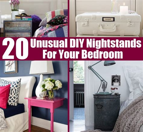 diy things for your bedroom 20 unusual diy nightstands for your bedroom diy home things