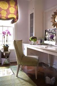 Purple And Green Home Decor Purple Office Contemporary Den Library Office Muse Interiors
