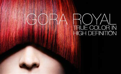 how to process igora royal hair color