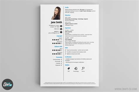 Simple Resume Creator by Cv Maker Professional Cv Examples Online Cv Builder