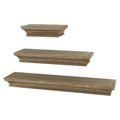 threshold traditional shelf set of 3 for the home