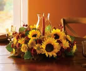sunflower centerpieces sunflower centerpiece autumn