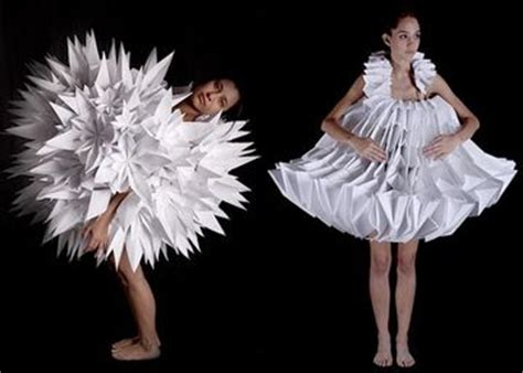 Origami Inspired Fashion - 35 origami inspired fashion designs pixel77