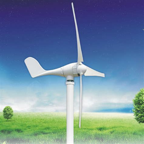 500w ac 12v 24v wind turbine generator for home use in