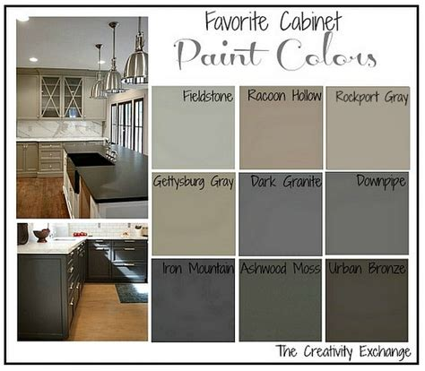 Kitchen Cabinet Glaze Colors by Favorite Kitchen Cabinet Paint Colors