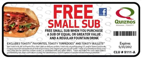 printable rabbit food coupons free fast food coupons coupons free small sub with