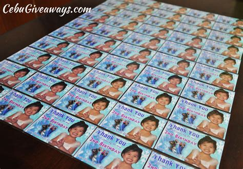 Personalized Ref Magnet Giveaways - ref magnets cebu giveaways personalized items party souvenirs