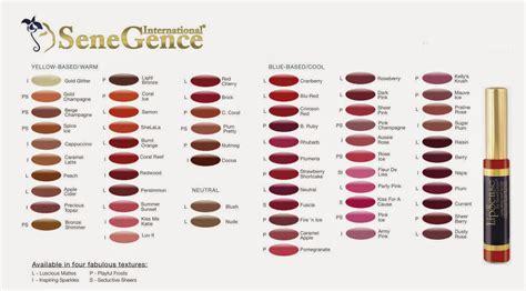senegence lipsense color chart lipsense color chart gallery