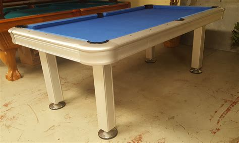 used outdoor pool table outdoor pool table extera outdoor 8u0027 pool table with