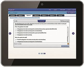 mymathlab mobile integrated review co requisite course option trigsted